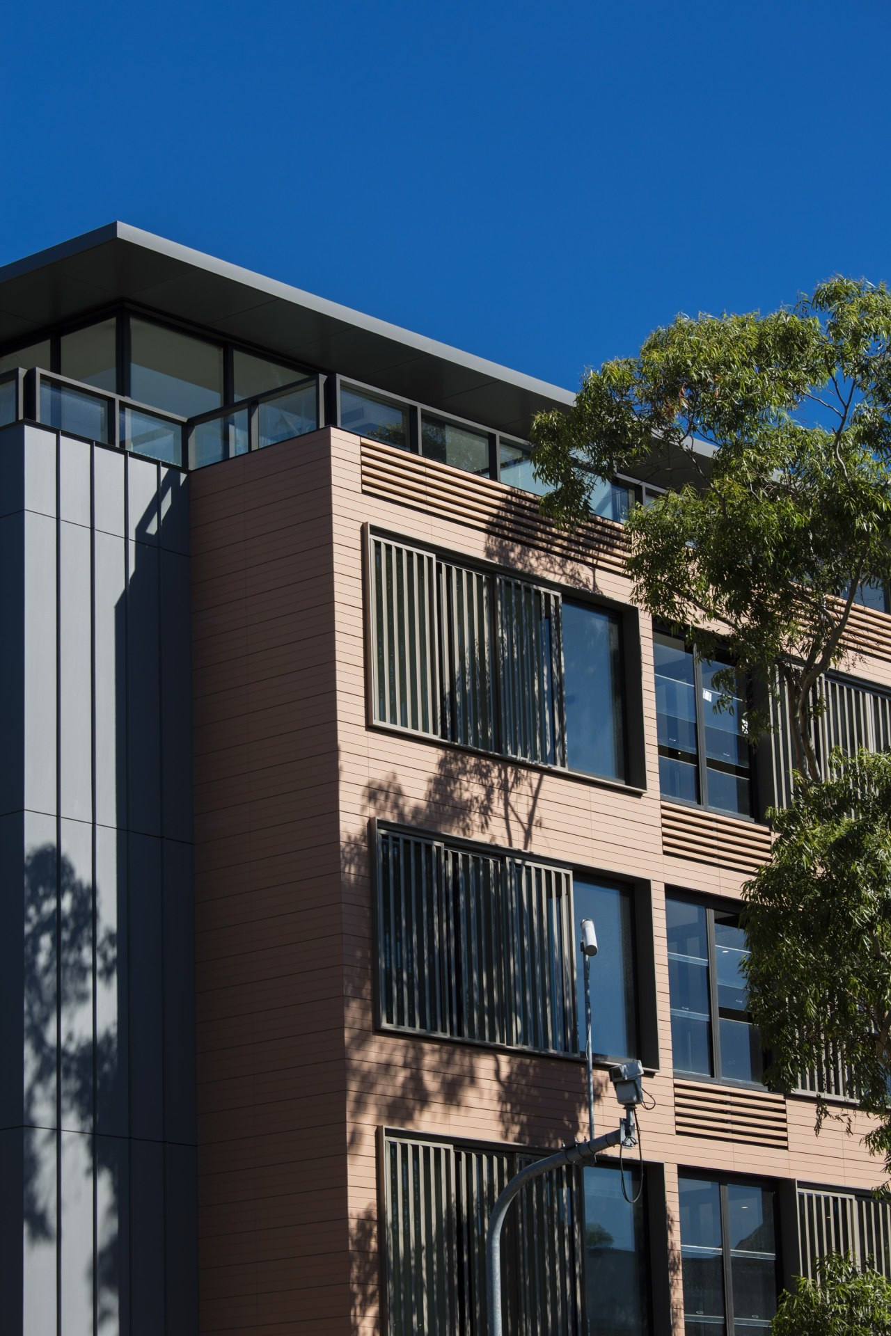 The ceramic building facade system – Available from apartment, architecture, building, commercial building, condominium, corporate headquarters, elevation, facade, home, house, mixed use, neighbourhood, property, real estate, residential area, black, blue