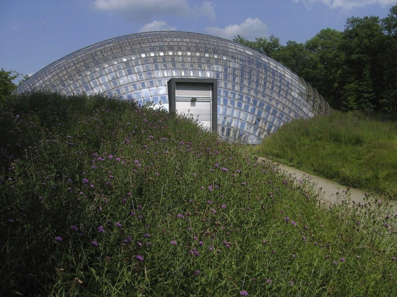 Forestry Branch – Marche-en-Famenne architecture, biome, garden, grass, greenhouse, meadow, plant, brown
