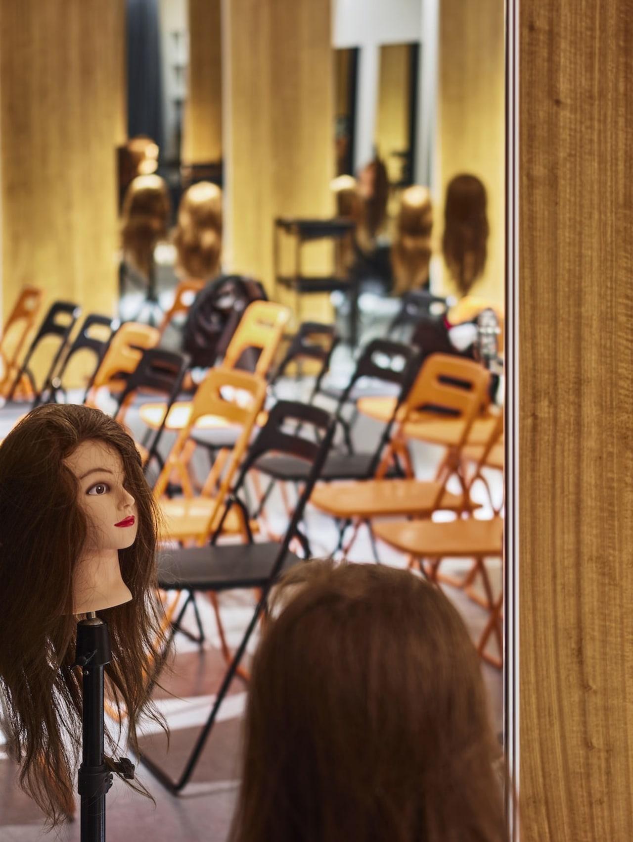 H Academy – Shi-Chieh Lu/CJ Studio furniture, girl, brown