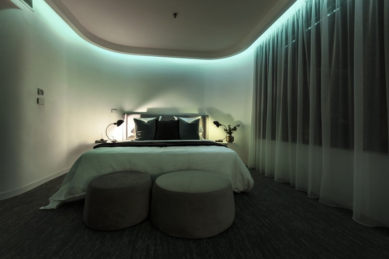If you like, you can adjust the lighting architecture, ceiling, design, floor, interior design, lighting, product design, room, black, gray