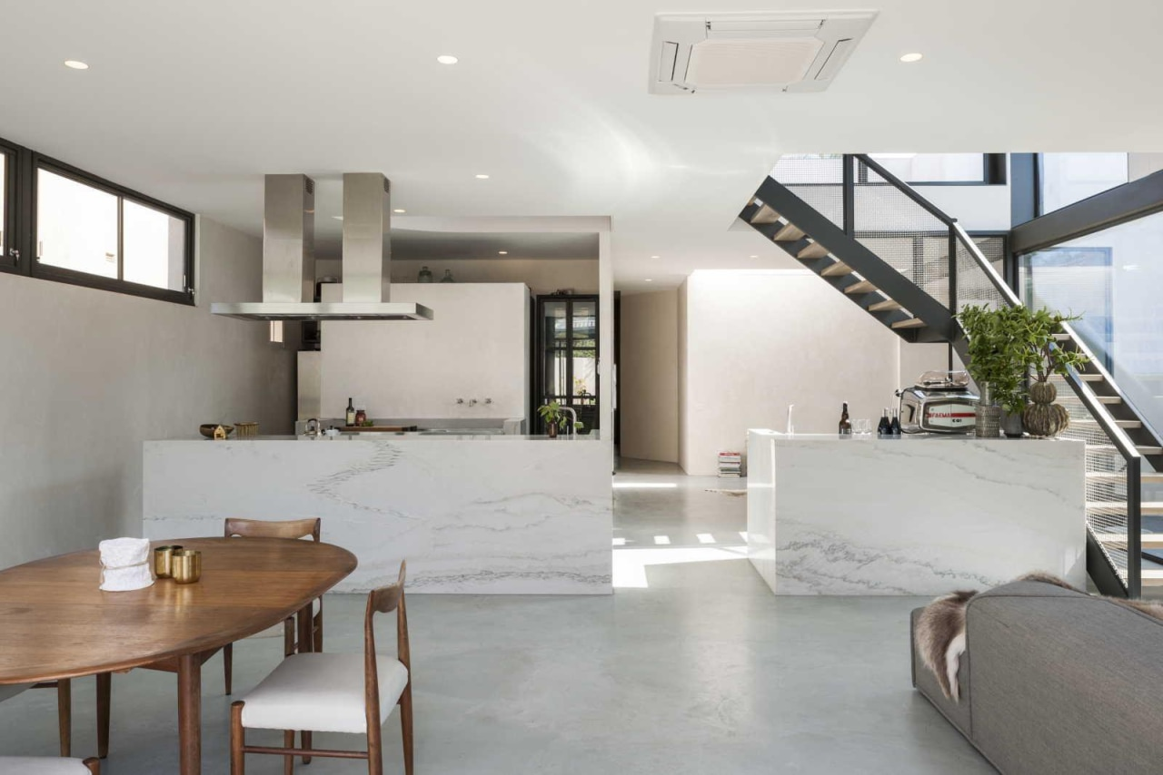 Ridolfi Architecture – 2015 TIDA Australia – Winner architecture, house, interior design, living room, property, real estate, gray
