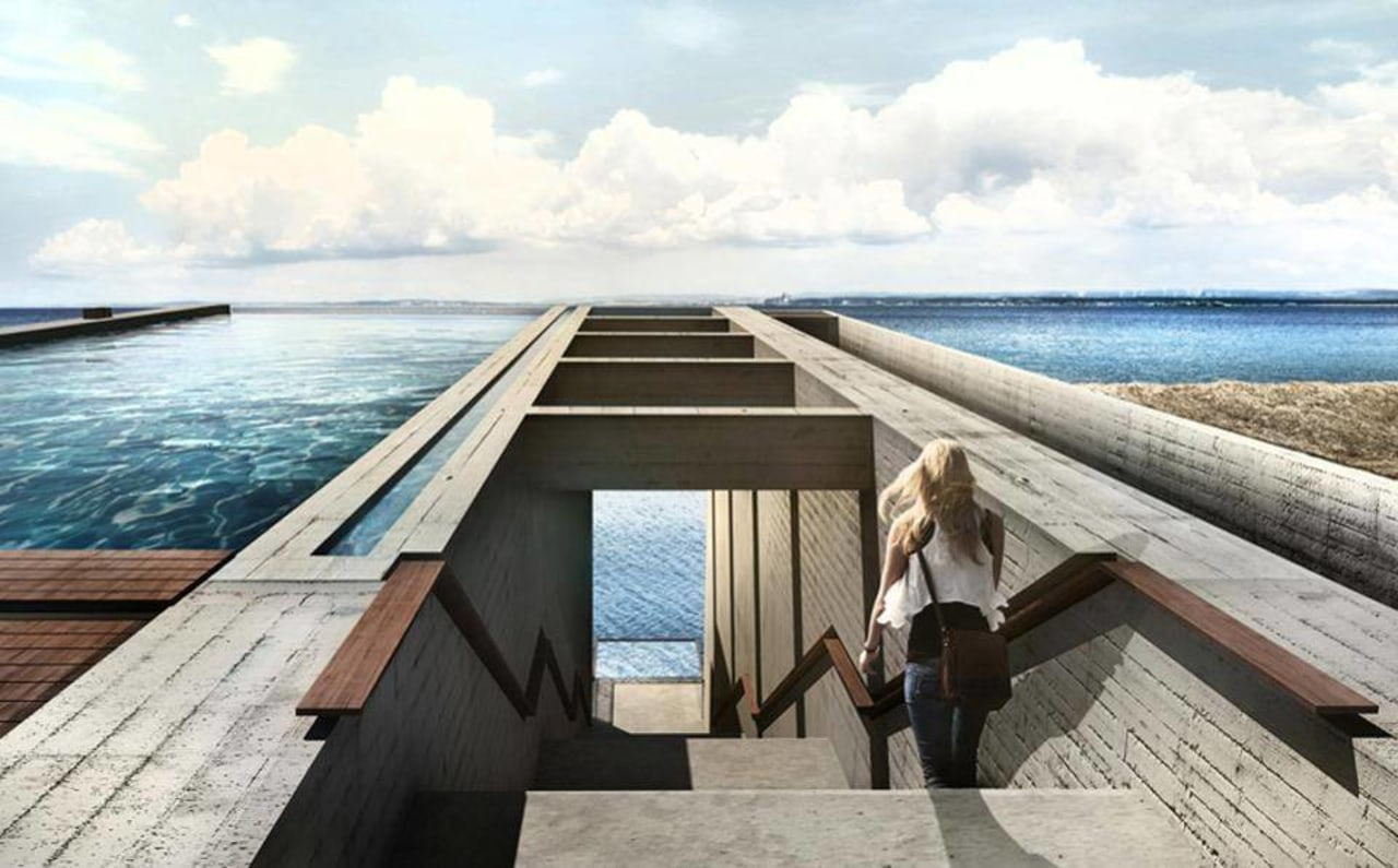 Casa Brutale: Images from LAAV outdoor furniture, sea, water, wood, white