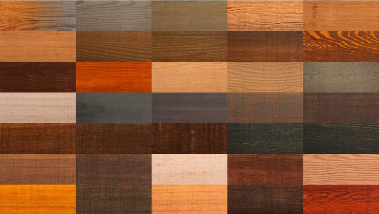 Dryden WoodOil's myriad colours and finishes seen here
