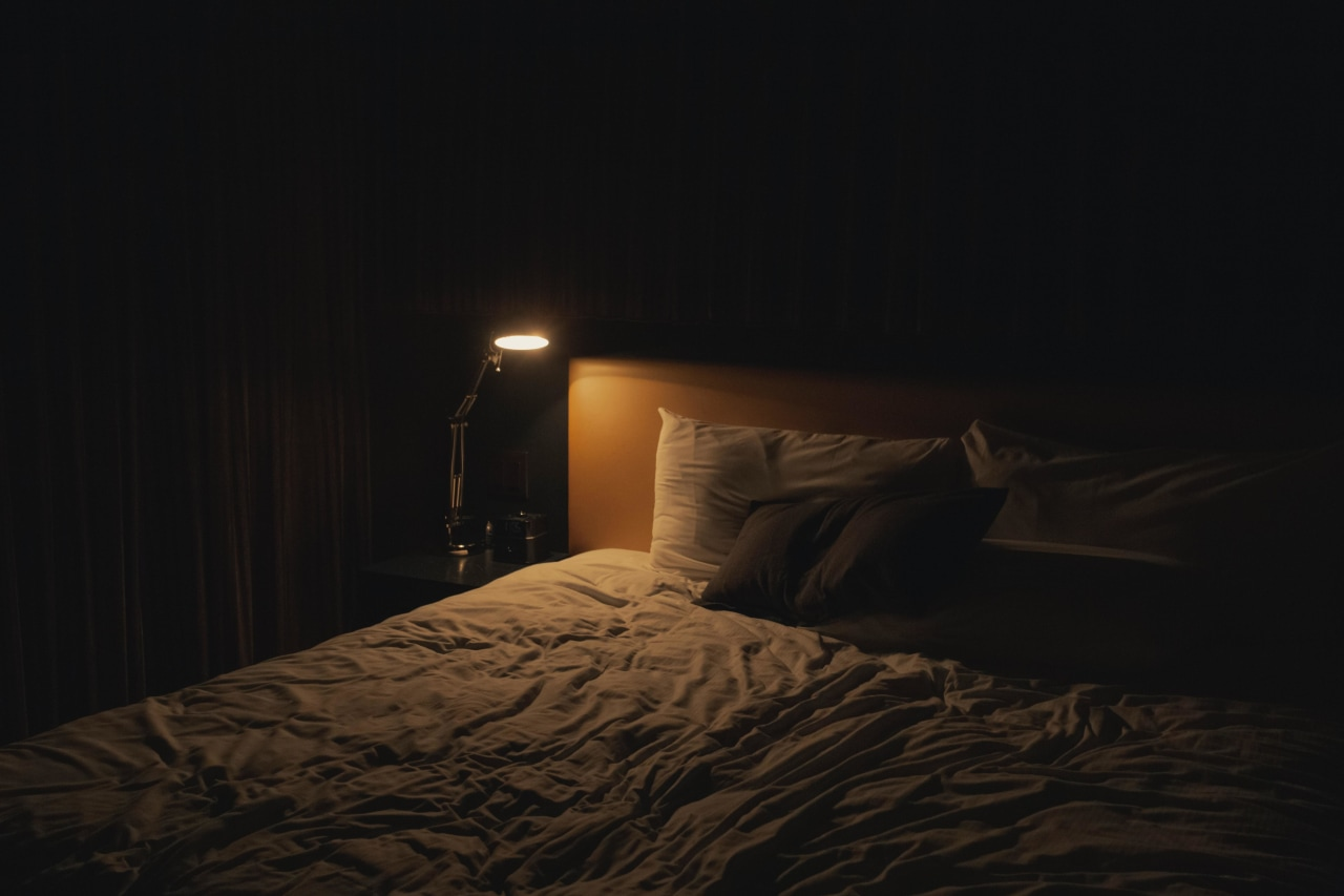 Removing light sources from your bedroom is one
