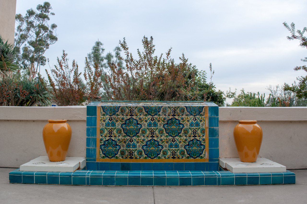 A classic 'carpet' tile feature – but your