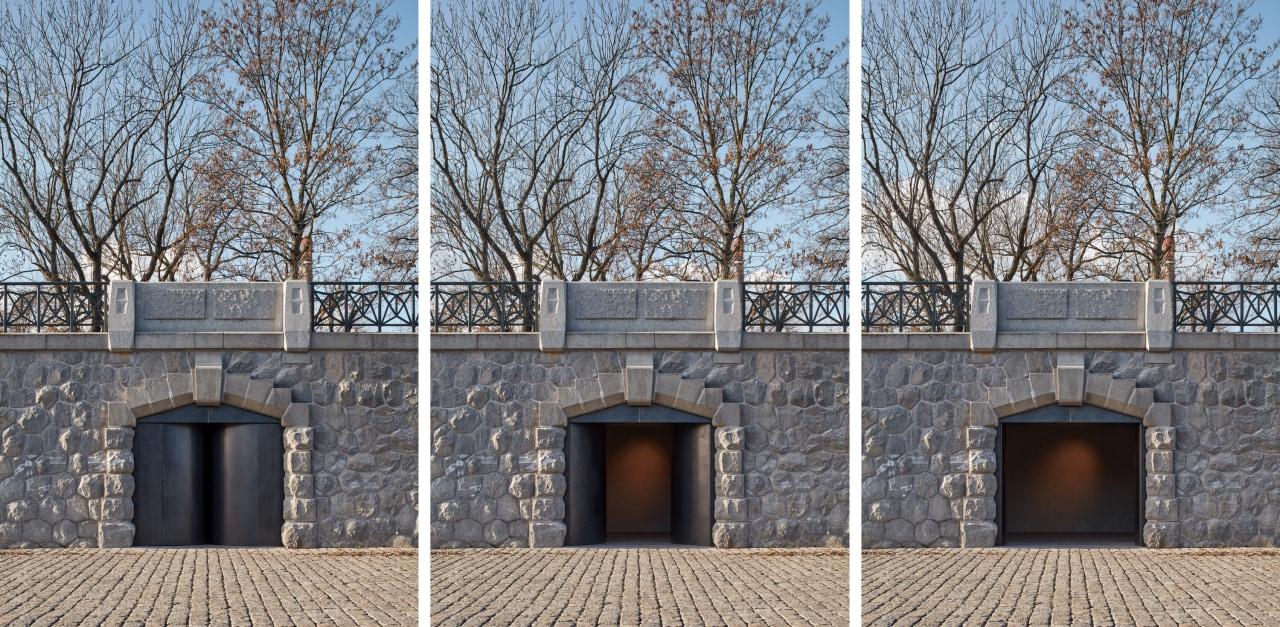 The 14 vaults on the Hořejší Embankment have