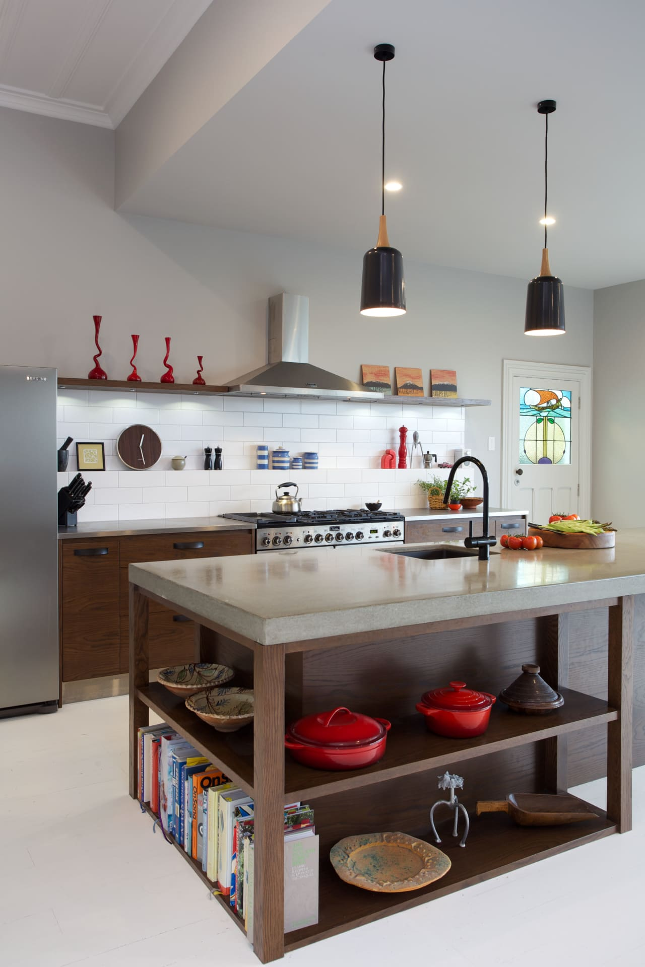 Quirky Eclectic Kitchen Featuring Design Icons Trends