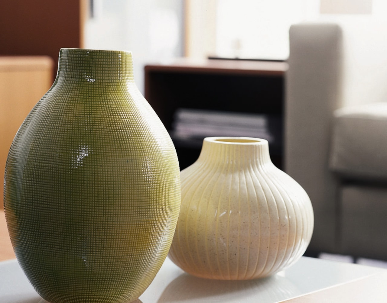 View of the vase artifact, ceramic, pottery, product design, vase, brown, white