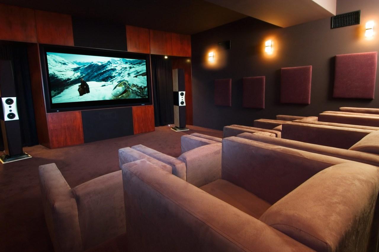 Interior view of lounge area entertainment, interior design, room, black