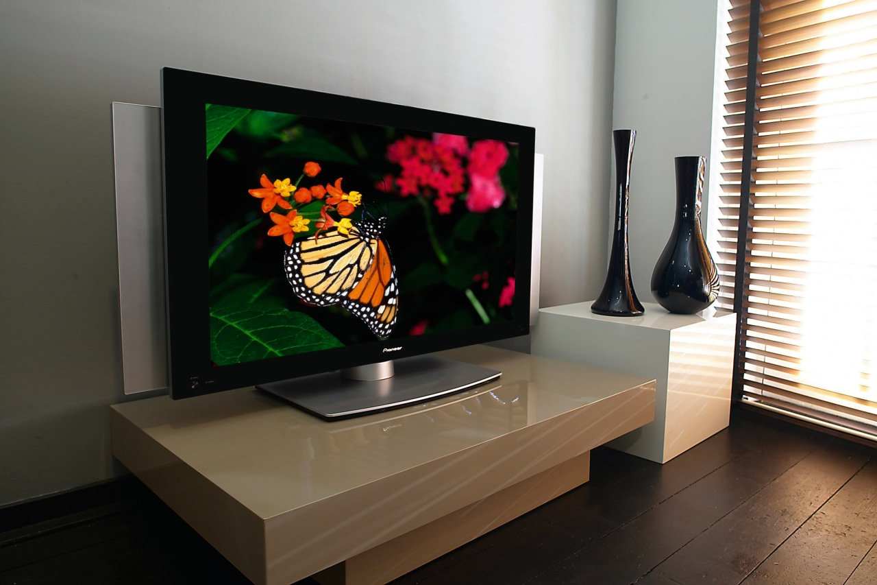 Interior view of living area display device, flat panel display, furniture, interior design, product design, table, technology, television, black