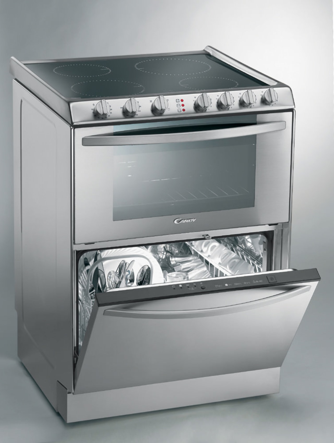 Dom Tech Australia imports the Candy 3 in gas stove, home appliance, kitchen appliance, kitchen stove, major appliance, oven, product, product design, small appliance, gray