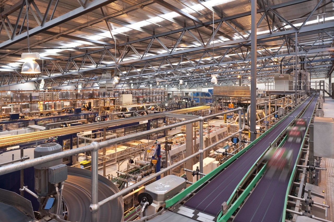 Lion's new HQ in South Auckland factory, industry, manufacturing, mass production, warehouse, gray