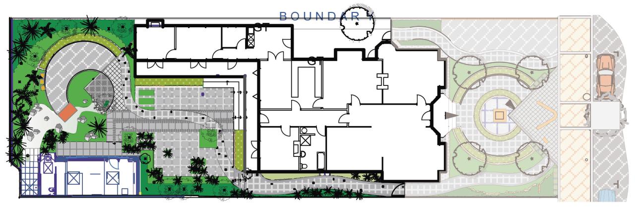View of landscape architectural plans. architecture, area, design, floor plan, neighbourhood, plan, residential area, urban design, white