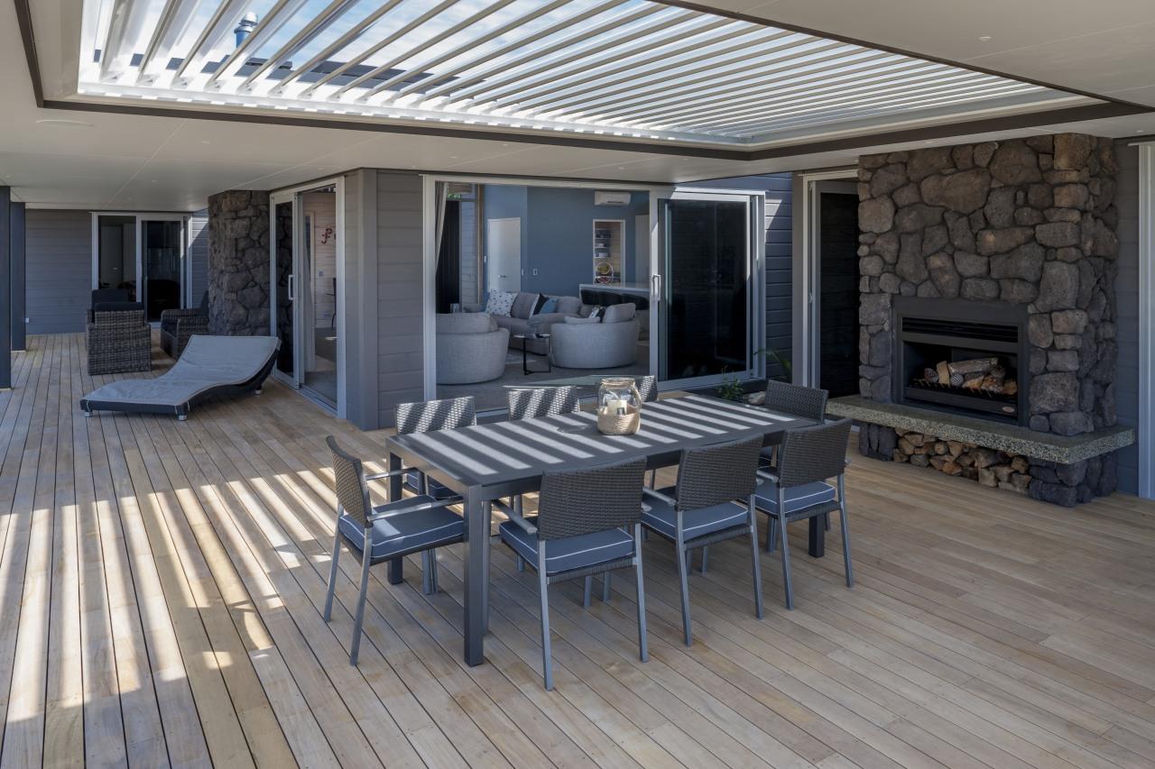 Lockwood Home built by Peter Richards deck, floor, flooring, interior design, patio, real estate, wood flooring, gray, black