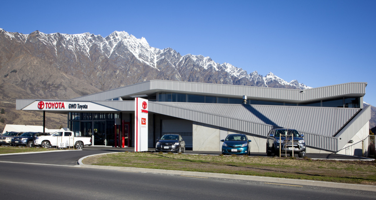Fabricators Ellisons Aluminium combined products from Aluminium Systems architecture, building, corporate headquarters, real estate, sky, gray
