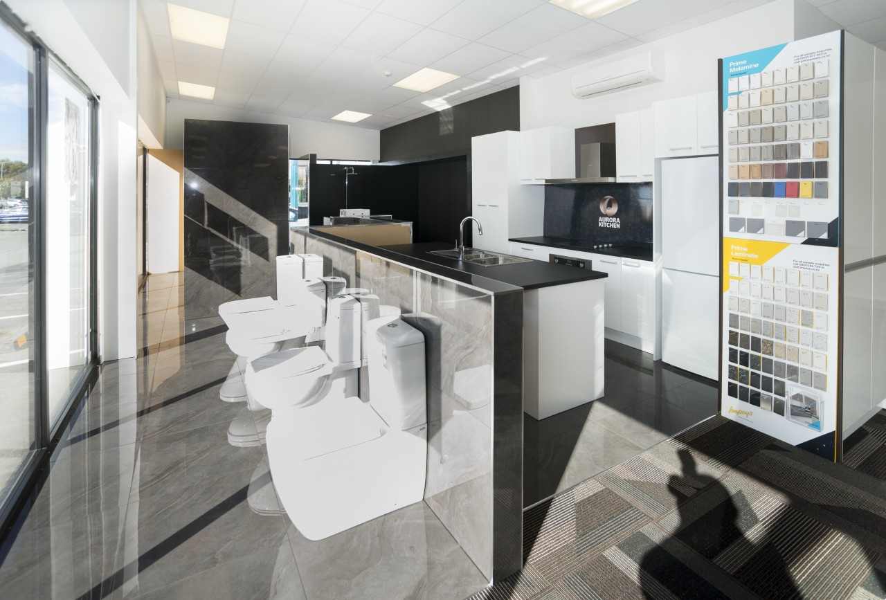 This contemporary kitchen shows how Christchurch-based Reno4u can architecture, interior design, kitchen, product design, real estate, white, gray