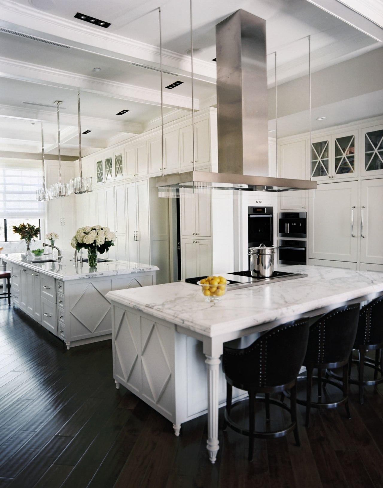To enhance the sense of a living room, cabinetry, countertop, cuisine classique, floor, flooring, interior design, kitchen, laminate flooring, room, wood flooring, gray, black