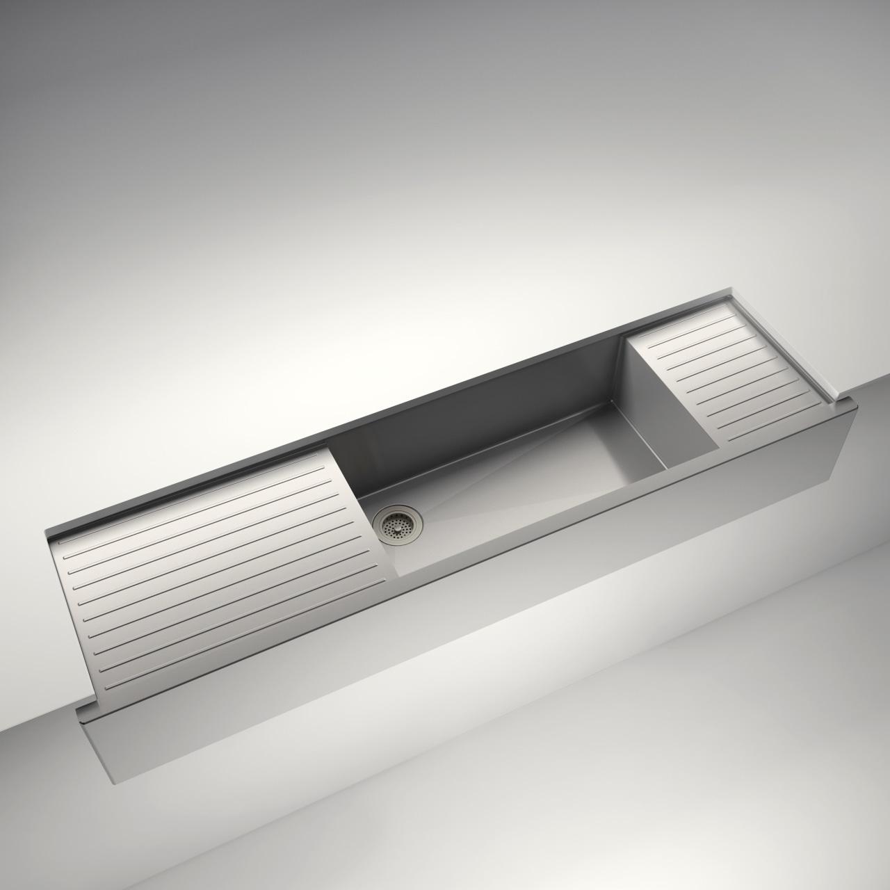 Julien à la Carte customizable sink light, lighting, product, product design, white
