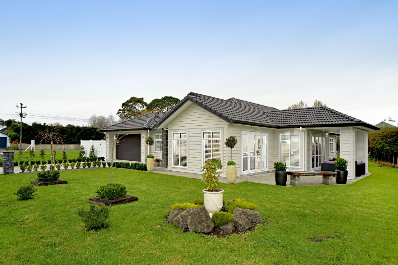 Palliside weatherboards  traditional look, low maintenance cottage, estate, facade, farmhouse, grass, home, house, land lot, landscape, property, real estate, residential area, villa, teal