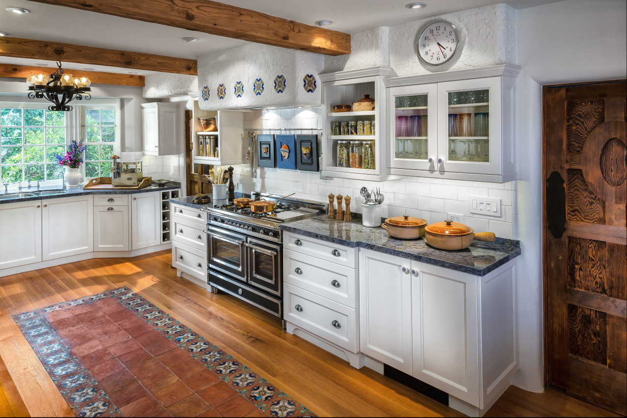 A testament to enduring design this new cabinetry, countertop, cuisine classique, interior design, kitchen, real estate, room, gray, brown