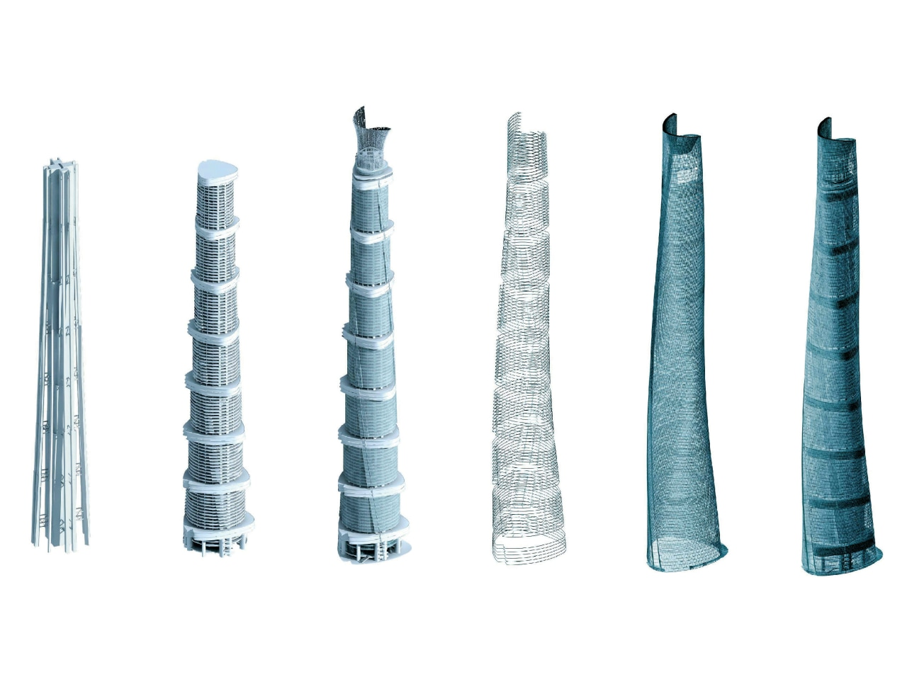 This series of drawings illustrates the layering of cylinder, product, product design, white
