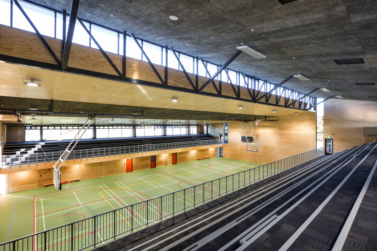 Popular for walls, ceilings and fences, Woodtex acoustic architecture, leisure centre, metro station, metropolitan area, public transport, rapid transit, sport venue, structure, track, train station, black