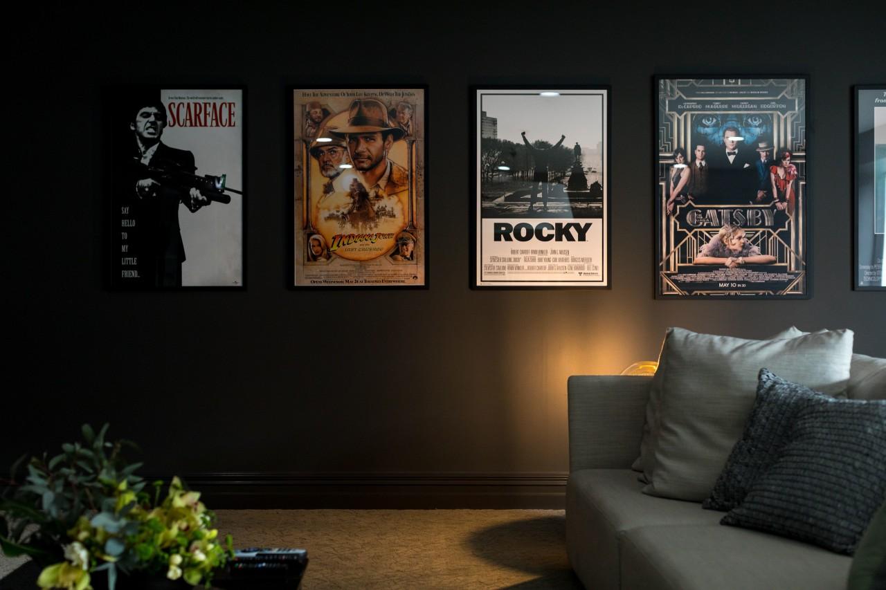 The choice of Resene Zeus in a matt home, interior design, room, black