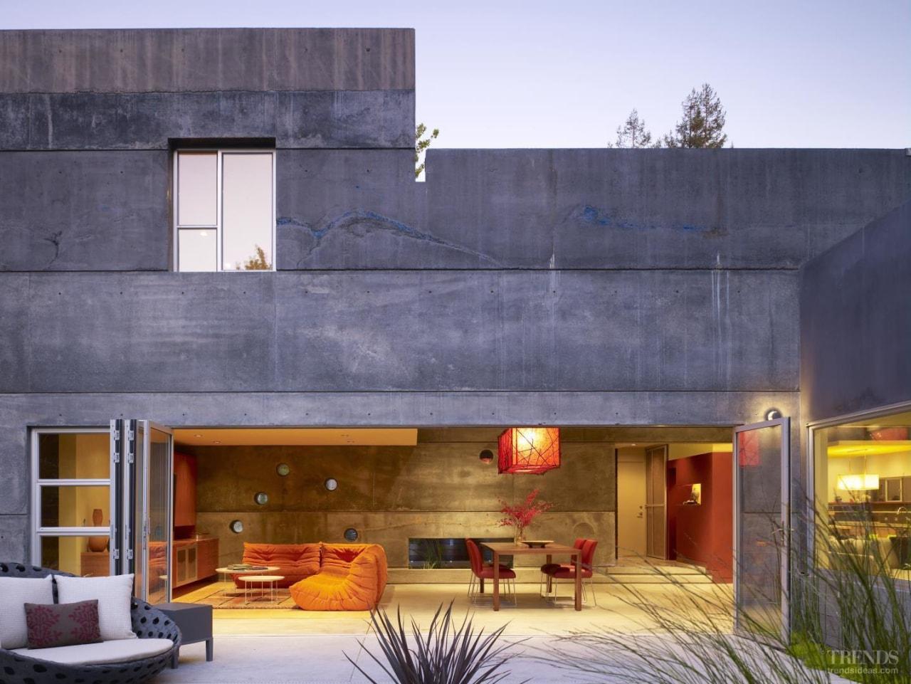 Commanding perspective - architecture | building | estate architecture, building, estate, facade, home, house, interior design, property, real estate, purple