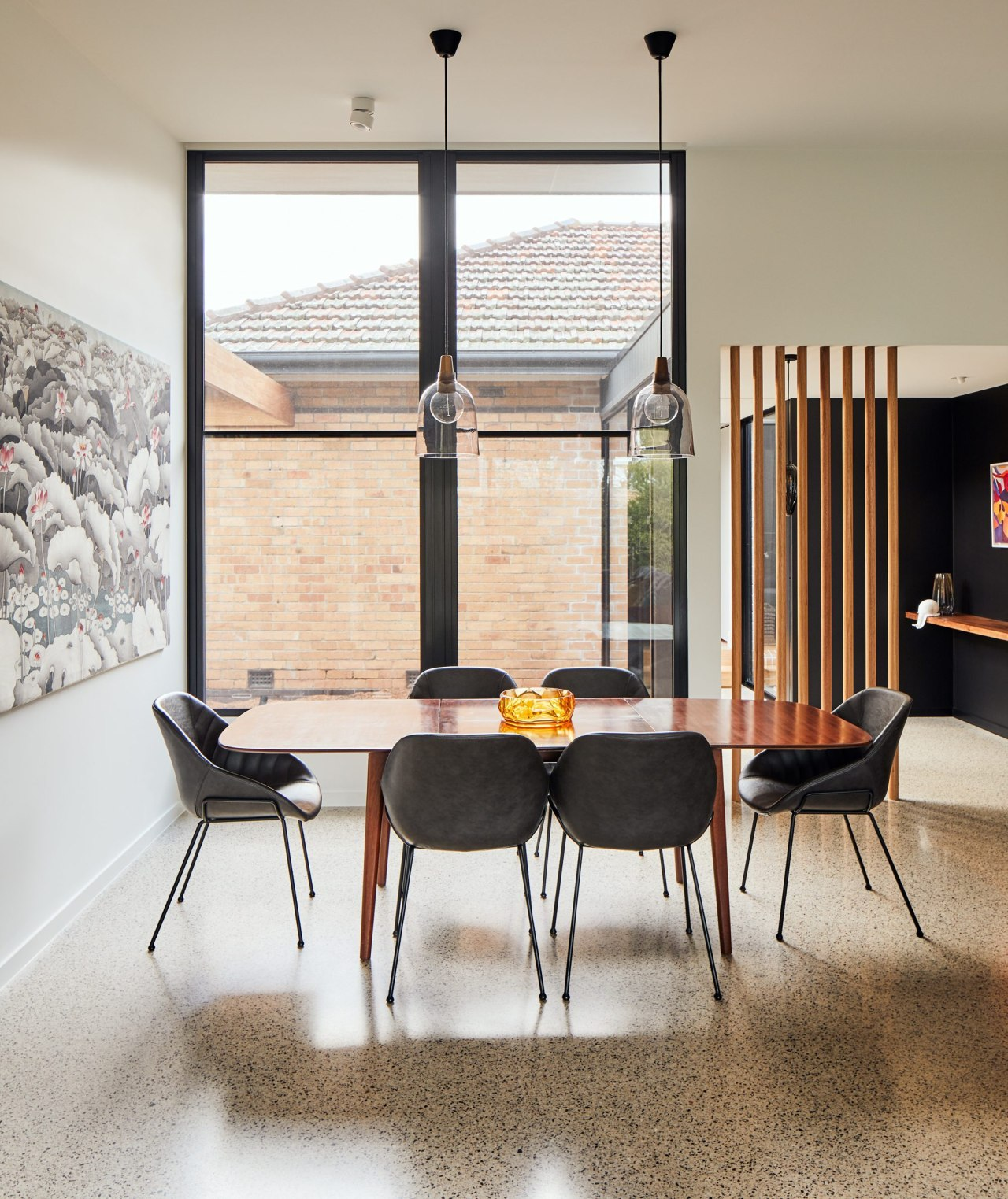 In a home renovation that dovetails modern with
