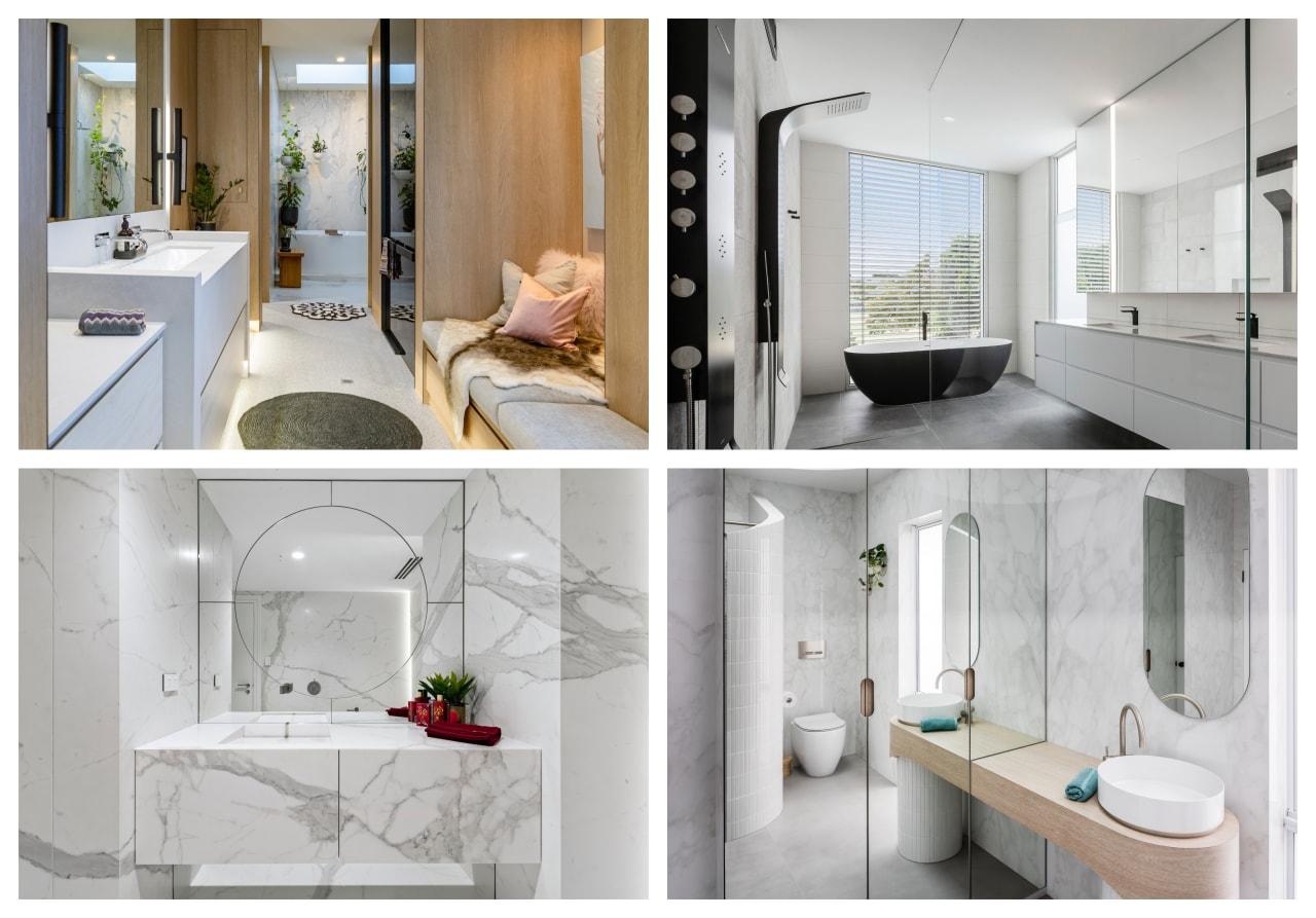 2021 TIDA Australia Bathrooms winners -