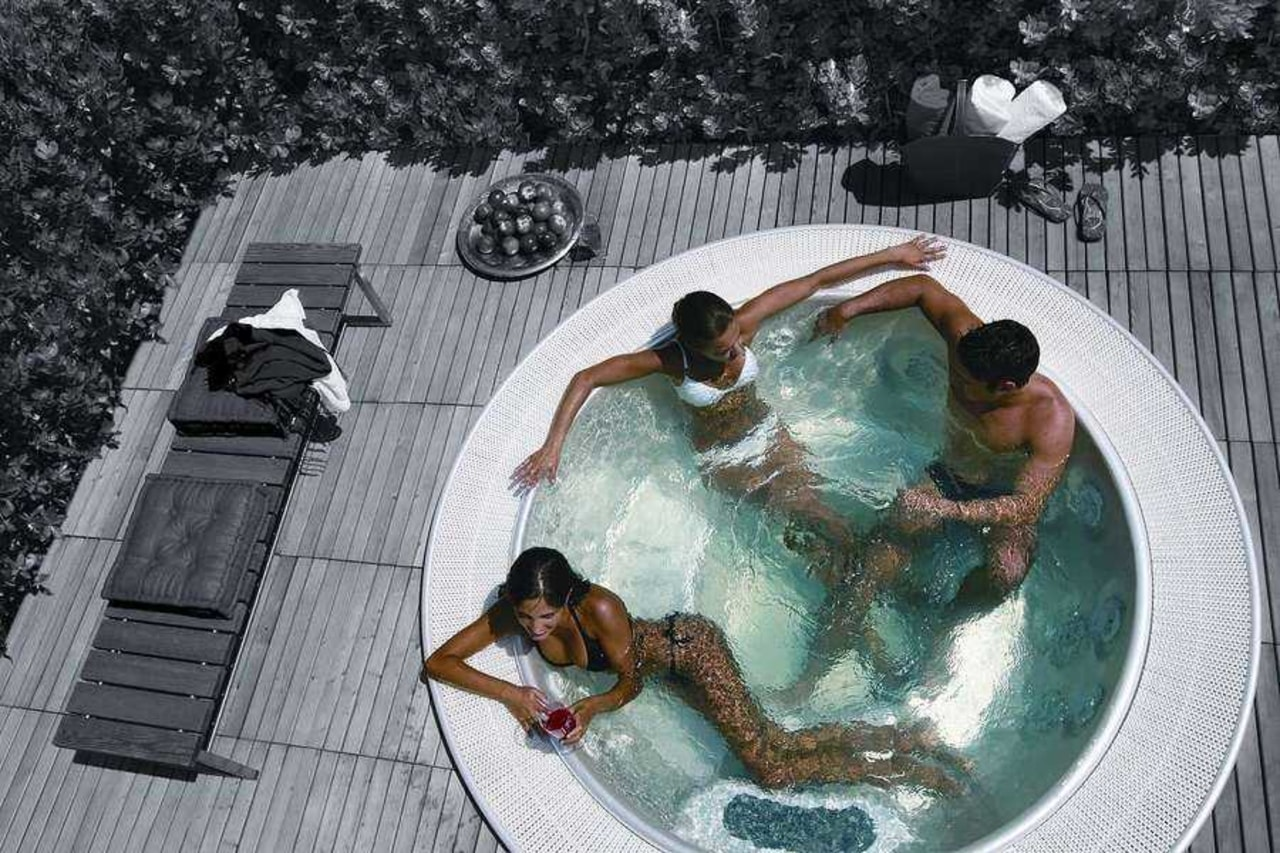 The requirements for caring for your spa are bathtub, fun, jacuzzi, leisure, swimming pool, thermal bath, water, gray, black