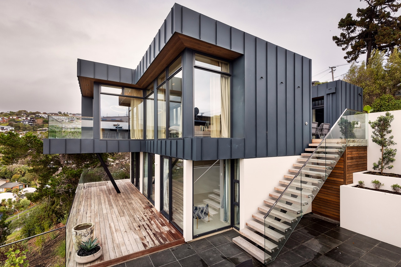 """From the architects: """"We designed the home to"""