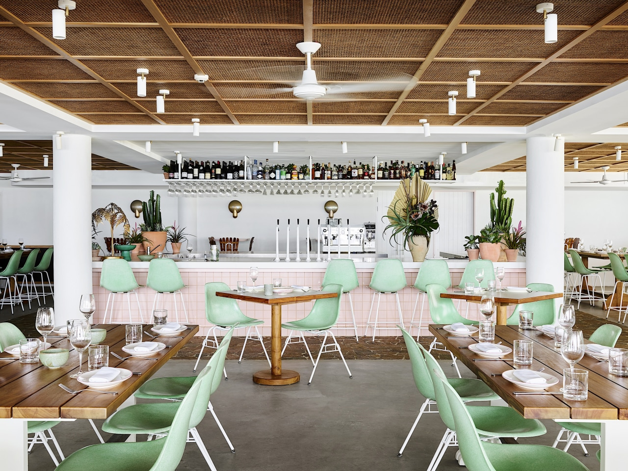 The Tropic restaurant at Burleigh Heads Pavilion exudes