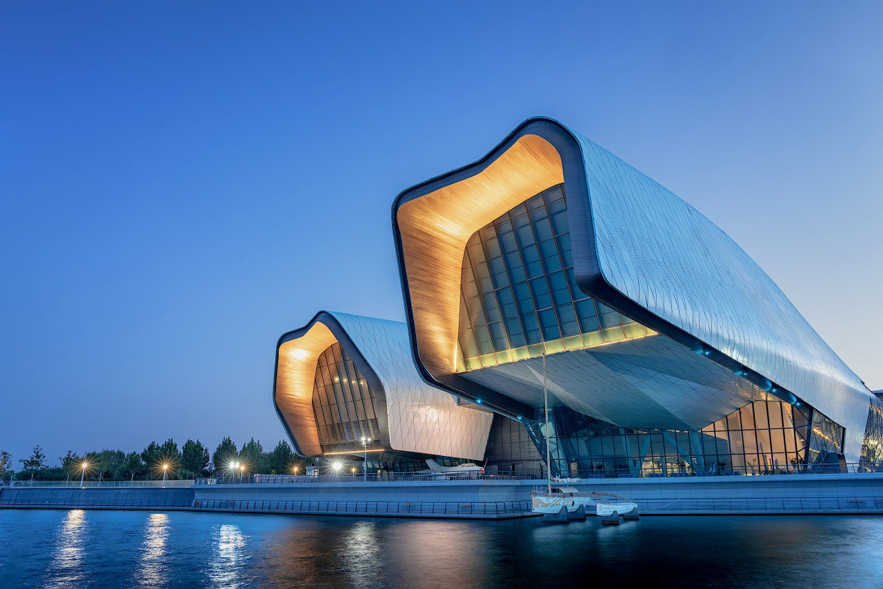 The National Maritime Museum of China by Cox