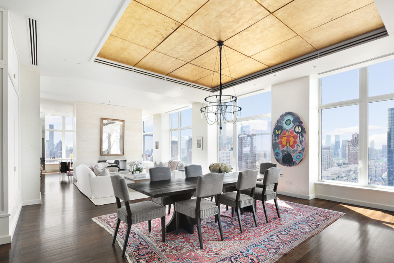 Jennifer Lawrence's on-sale penthouse has a formal living white