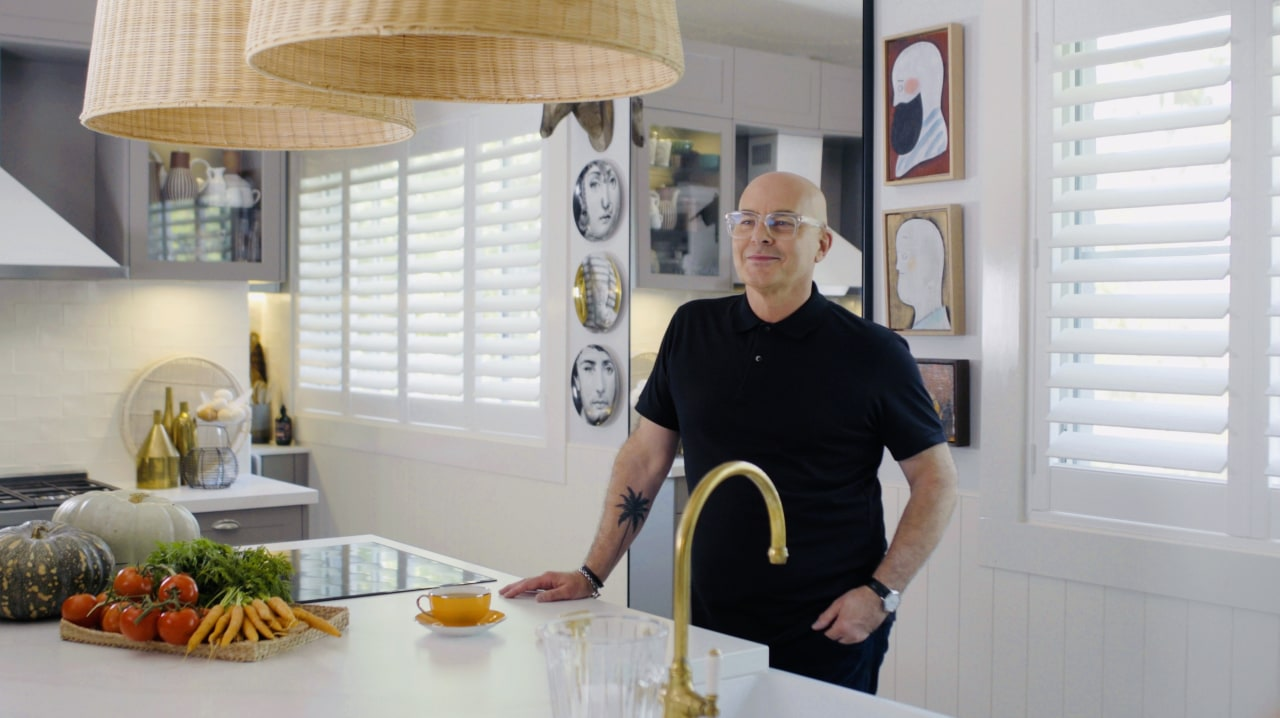 Interior design expert and TV personality Neale Whitaker