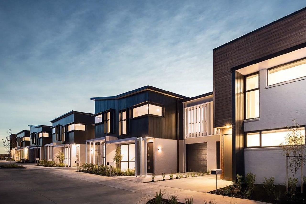 Creative arch townhouse development -