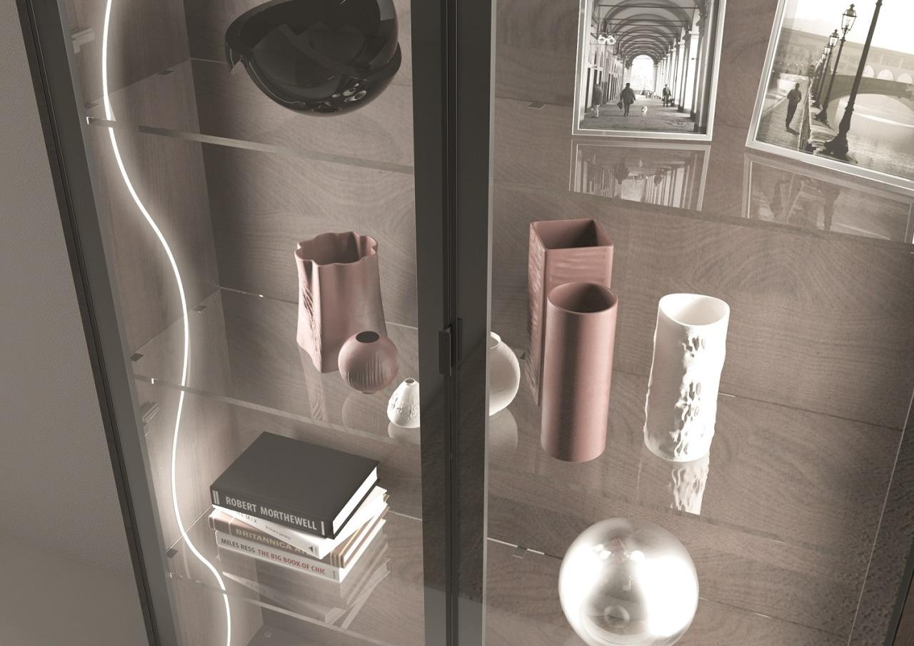 Domus Line Flexible Side Emitting Se H4 Led bathroom, plumbing fixture, sink, tap, gray