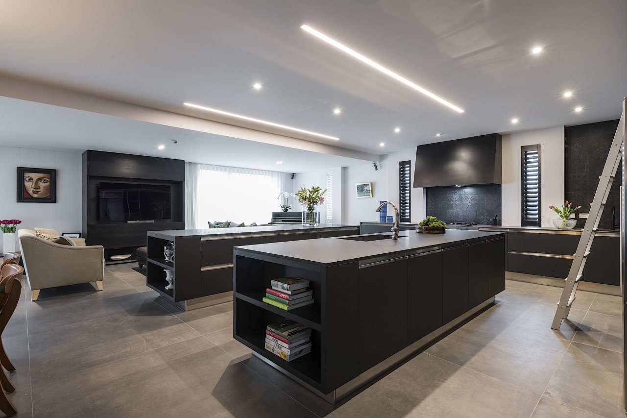 Next generation benchtops with the look of steel gray