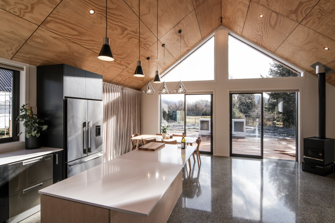 The contemporary home makes the most of its
