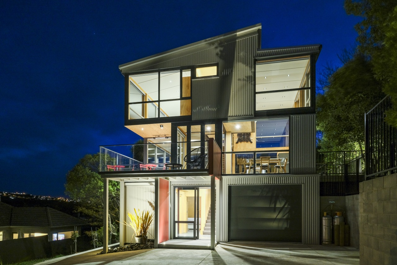 The home's appealing sense of transparency is equally