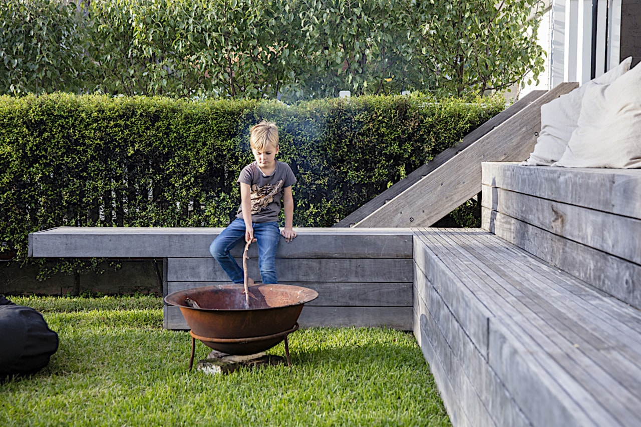 If your fire pit is going to be