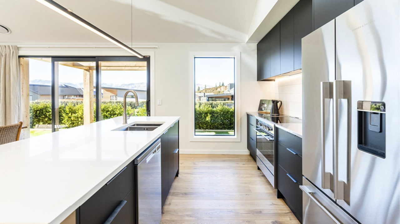 Cutting edge Fisher & Paykel appliances underpin a
