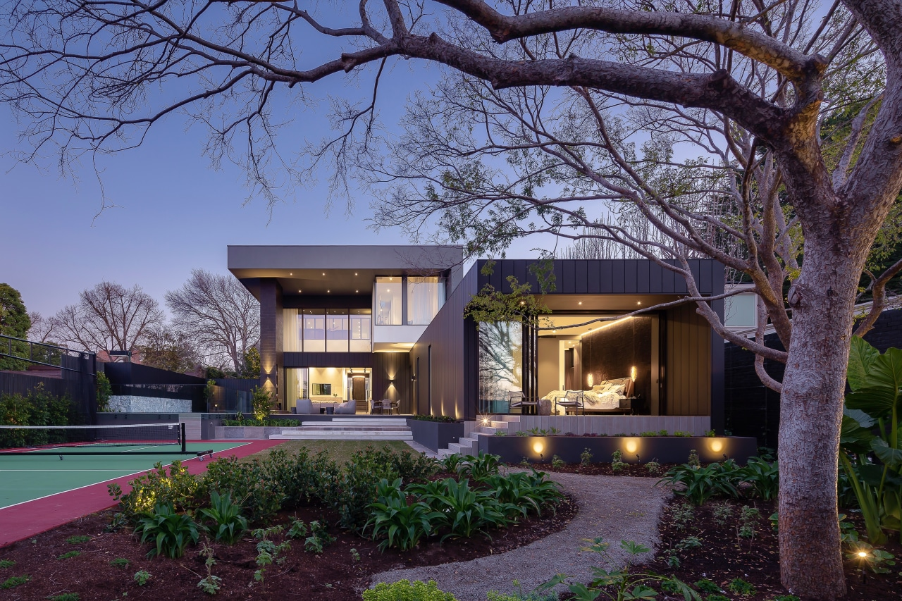 Sculptural home offers emotional wellbeing and a green