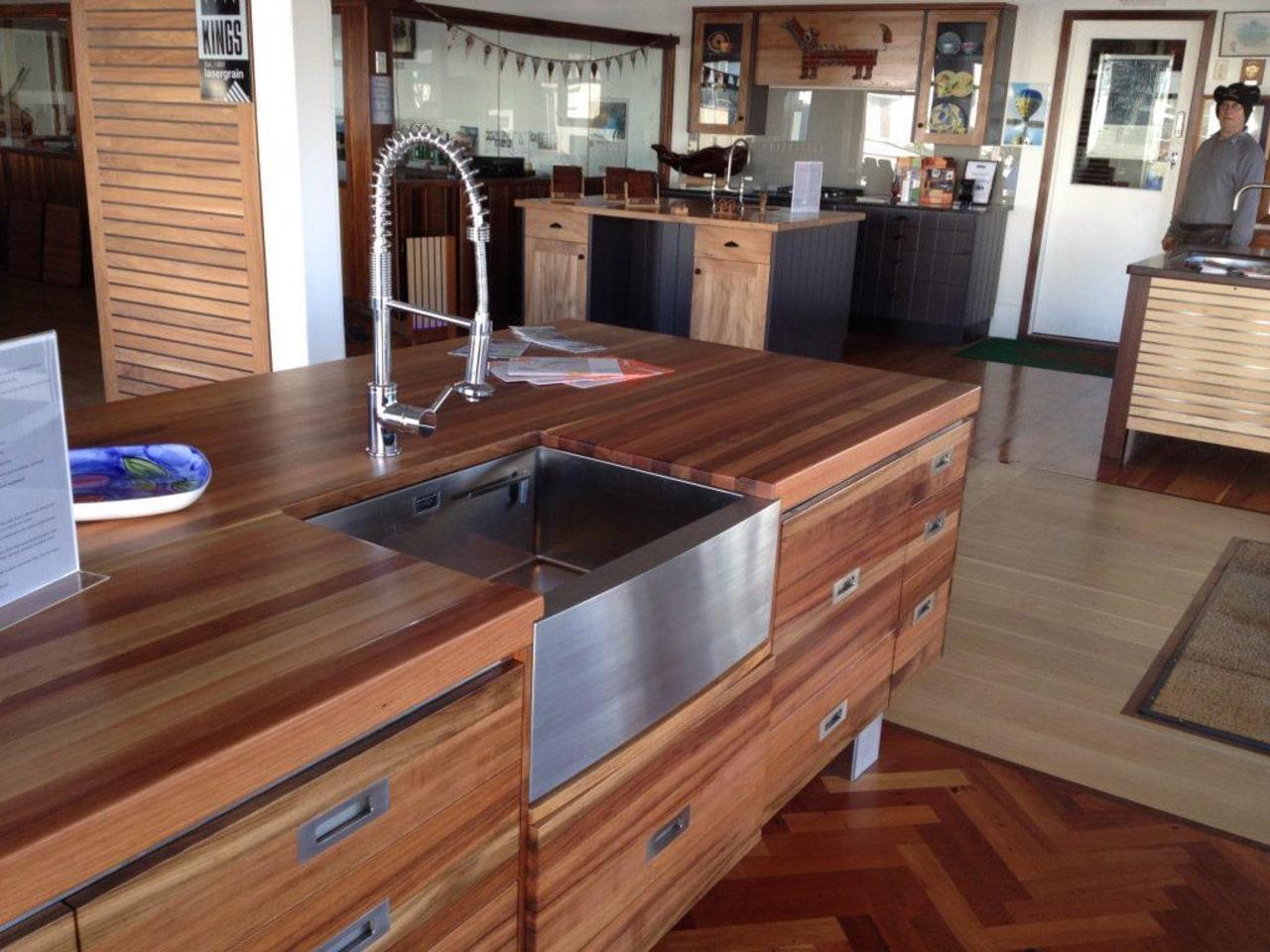 Sink: Kings Fourth Generation 2 ArgonSee this cabinetry, countertop, cuisine classique, floor, flooring, furniture, hardwood, kitchen, laminate flooring, wood, wood flooring, wood stain, brown