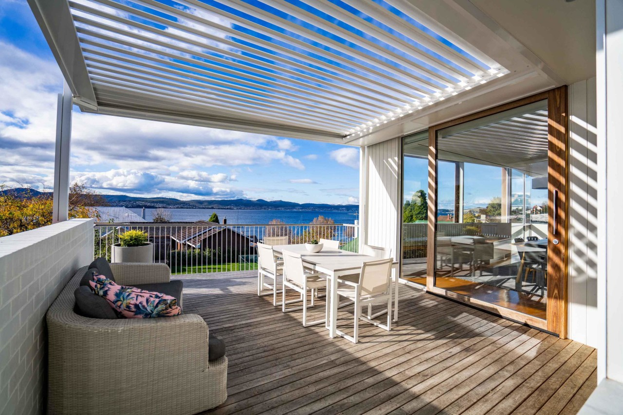 Louvretec Opening Roofs transform your patio, deck or