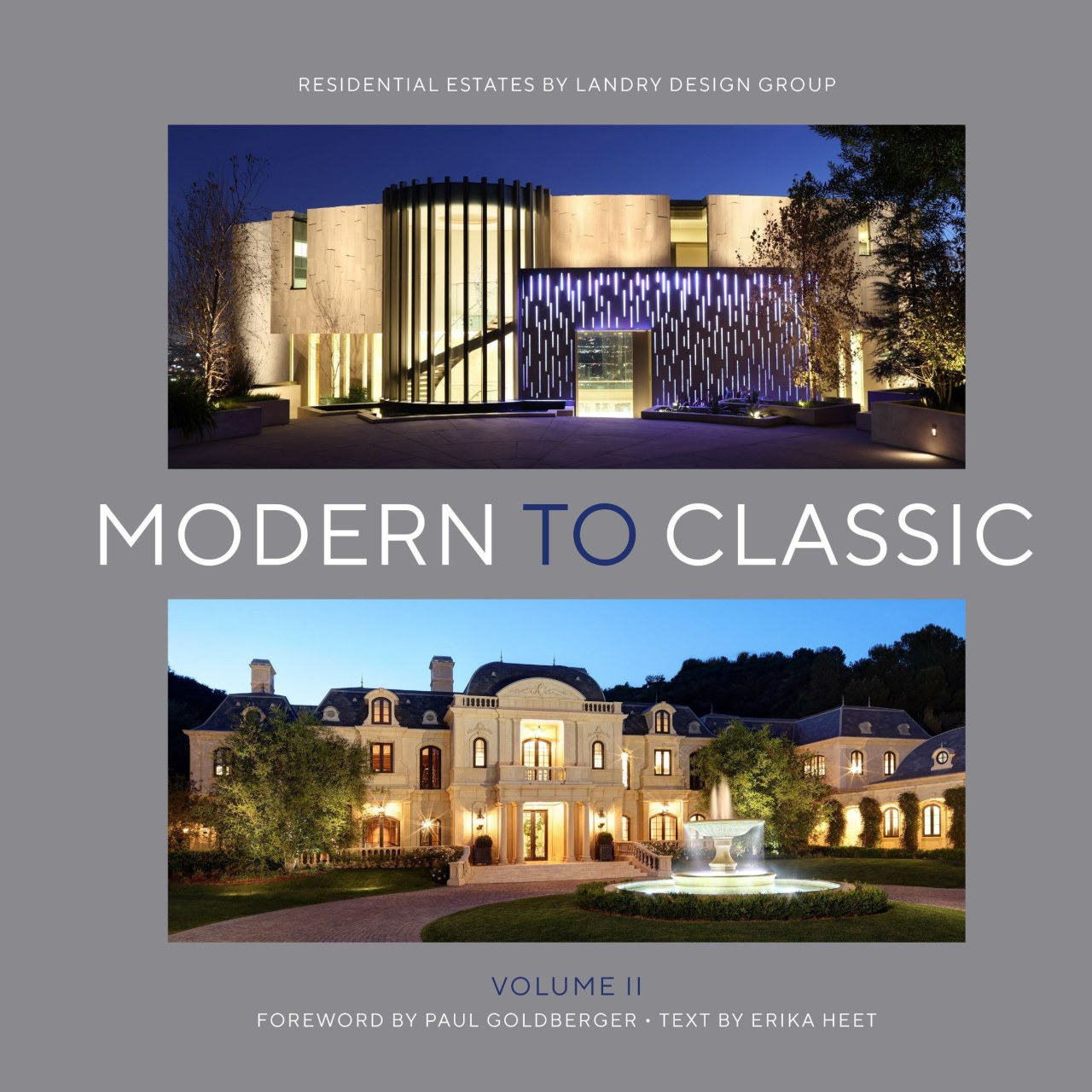 Modem to Classic II: Residential Estates by Landry advertising, architecture, estate, facade, home, property, real estate, gray