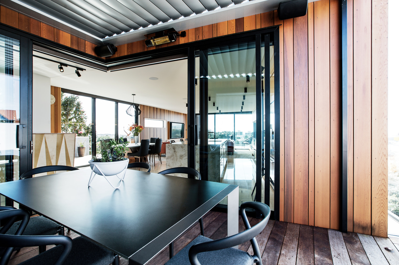 In this project by Boon Team Architects, the interior design, real estate, window, white