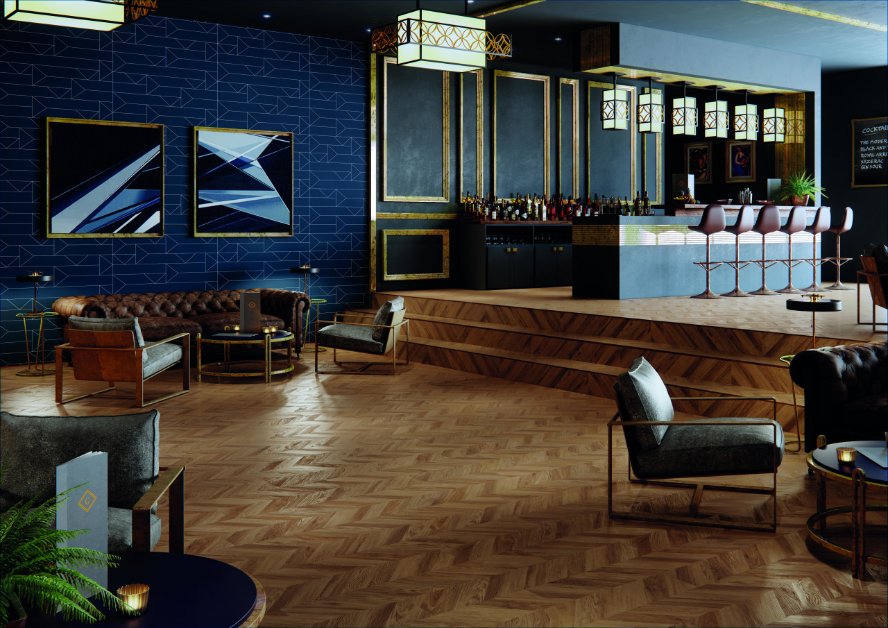 Polyflor offers modern vinyl floors in a wide floor, flooring, interior design, lobby, brown