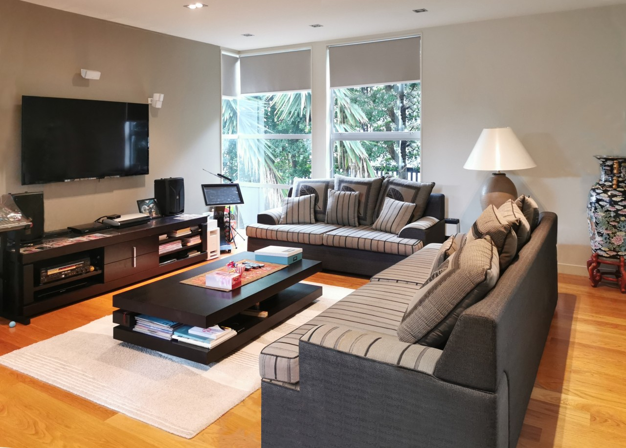 Room to move – spacious living and entertainment Home, House, couch, timber floor, flooring, furniture, home, house, interior design, living room, wood flooring, EZ Building Solutions